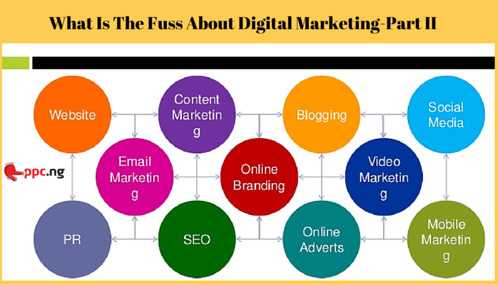 Online Marketing For Newbies: What Is The Fuss About Digital Marketing- Part II